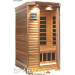 Lahti sauna mørk - 1 person